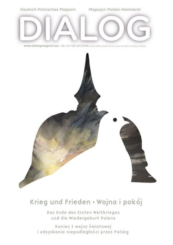 Cover DIALOG MAGAZIN: Krieg und Frieden