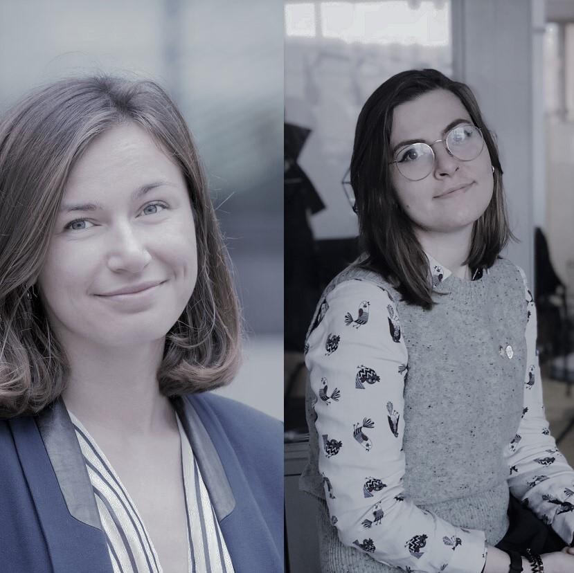 Natalia Smolentceva und Varvara Morozova