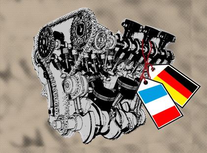 Deutsch-französischer Motor