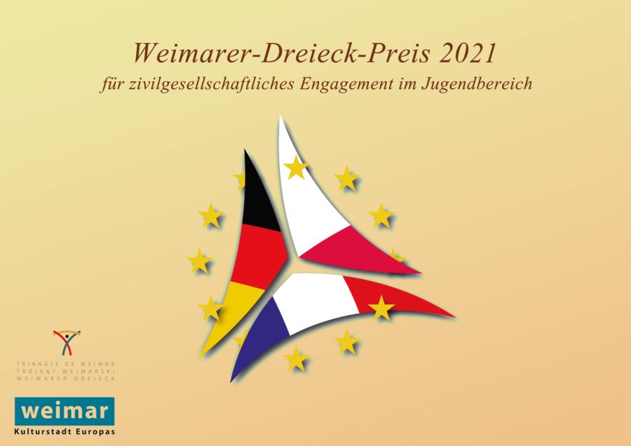 Ausschreibung: Weimarer-Dreieck-Preis für zivilgesellschaftliches Engagement 2021