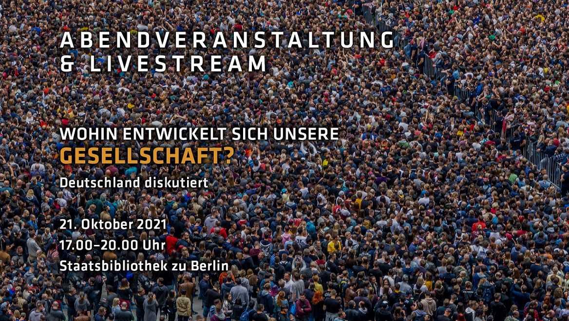 Deutschland diskutiert: Wohin entwickelt sich unsere Gesellschaft?